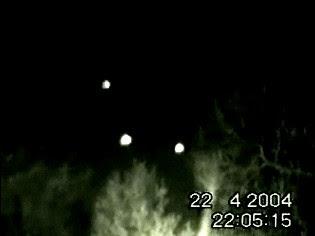 UFOs Filmed Above Essex Road (C Res)