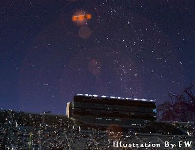 UFO Over Hico Texas 10-30-08