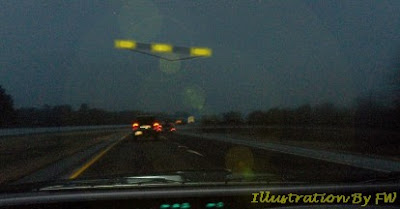 UFO Seen Near Stephenville, Texas
