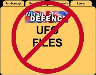 No More MoD UFO Investigations