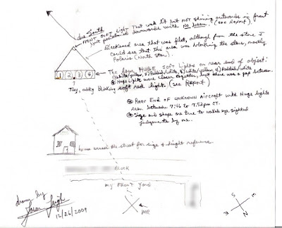Rear-view UFO 12-25-09 By Jason Leigh