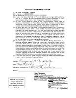 Dwynne C Arneson Affidavit