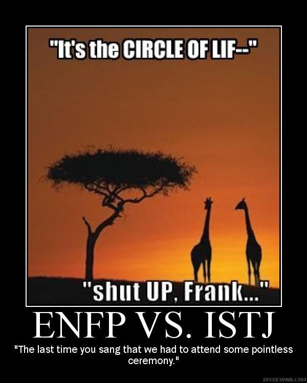 enfp and istj relationship