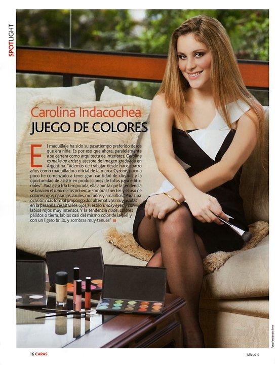 Carolina Indacochea Make Up Artist