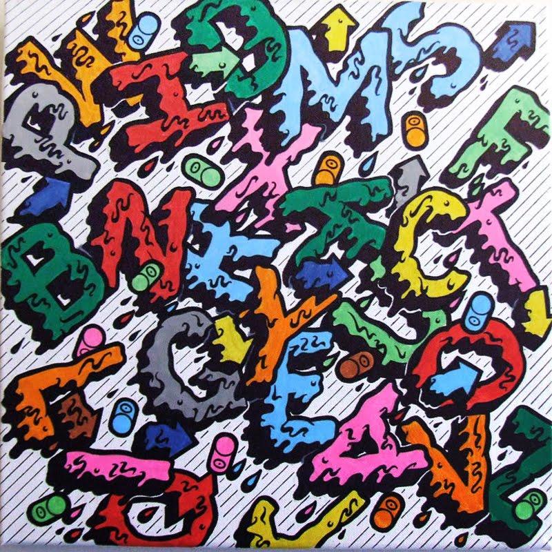 Cool Graffiti Alphabet A-z. Graffiti Alphabet Letters A-Z