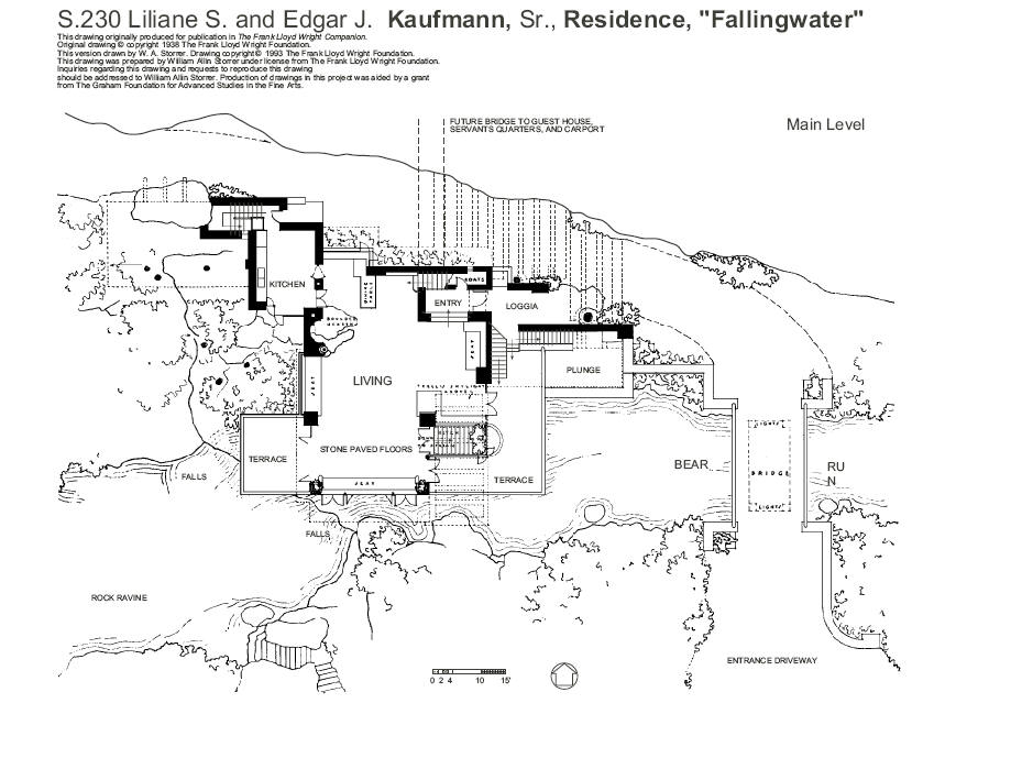 Plan Kaufman Villa