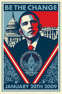 Barack Obama Collectible Inaugural Poster
