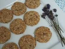 Raw Vegan Lavender Cookies