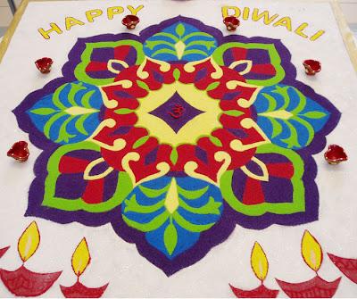 Rangoli Designs Painted Prayers Of India