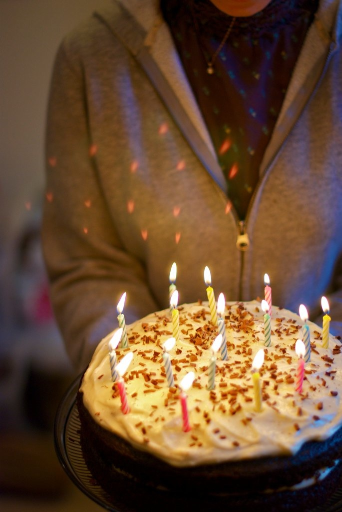 A cake isn't a birthday cake without candles.