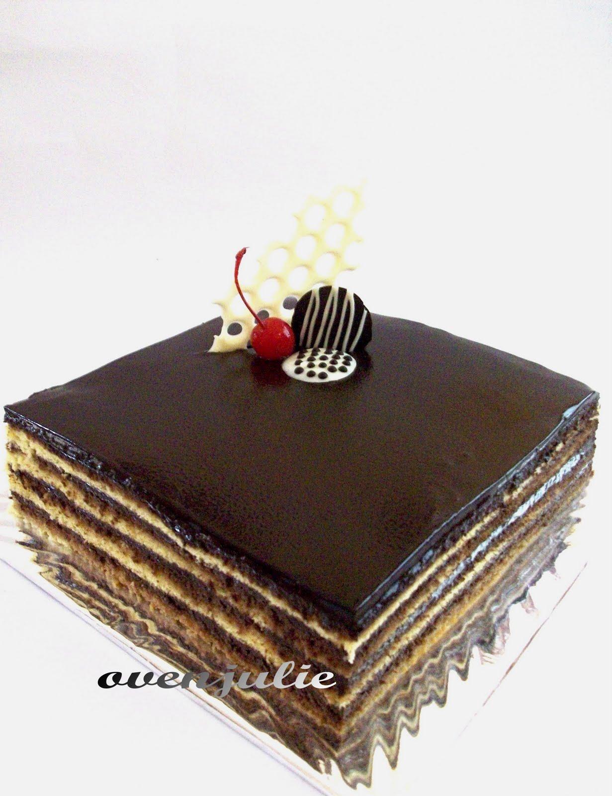 Opera Cake Adalah