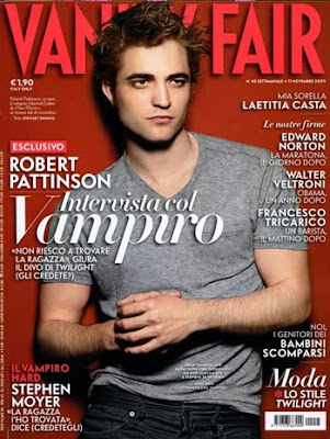 Robert Pattinson Vanity Fair Italy
