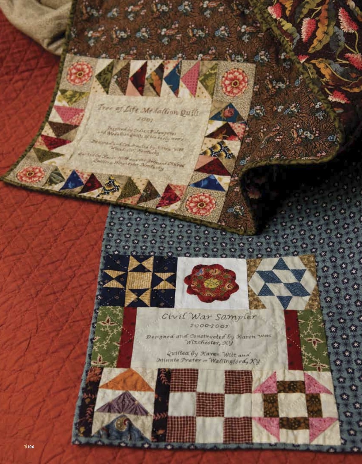 Quilting Label Ideas : Heirlooms by Ashton House: MY LATEST QUILT BOOK PROJECT