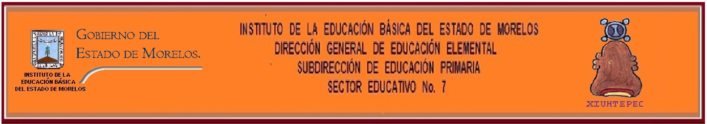 JEFATURA DEL SECTOR EDUCATIVO No. 7