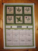 2008 cloth calendar