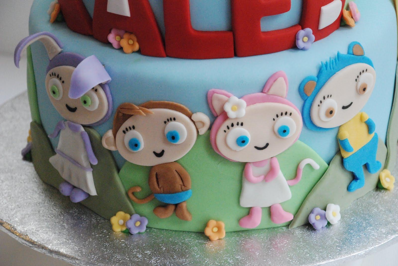 Bon G 226 Teau Waybuloo And Ni Hao Kai Lan Cakes