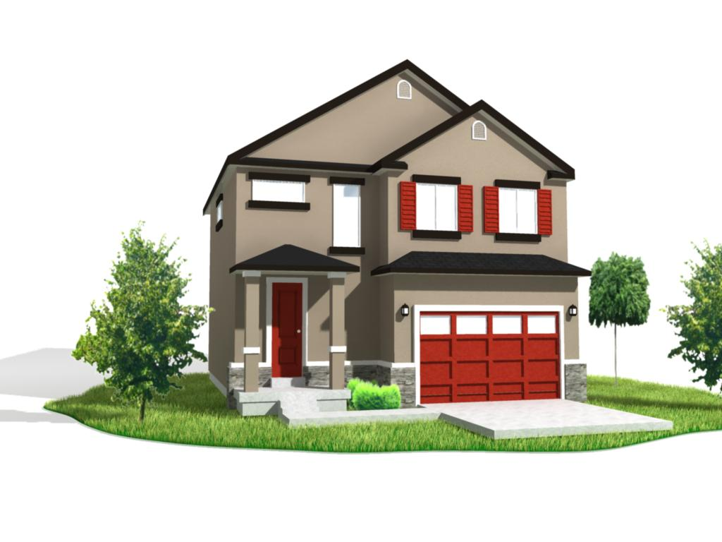 michael murdock illustration blog 3d house model