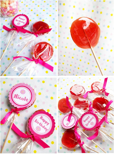 food gifts:   how to make old-fashioned sugar lollipops