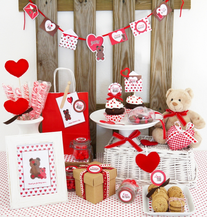 the simply sophisticated events blog valentine 39 s day party printables from bird 39 s party blog. Black Bedroom Furniture Sets. Home Design Ideas