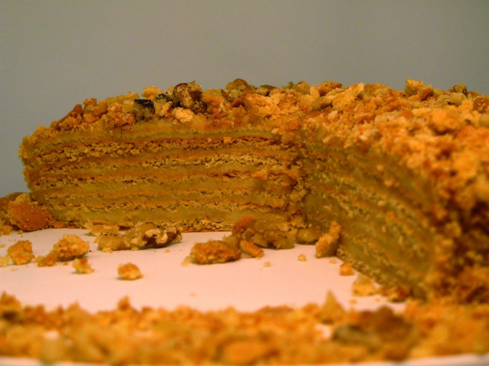 Торт медовик с кремом пошаговый рецепт