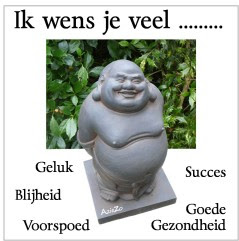 Gelukwensen met gratis Buddha eCard