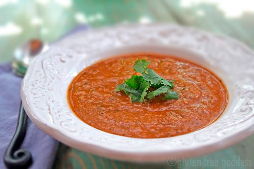 Gluten free vegan roasted vegetable chowder recipe