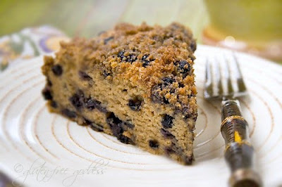 Gluten-Free Blueberry Crumb Cake Recipe
