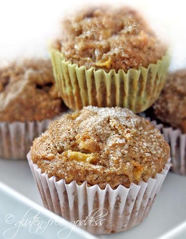 Apple-Pear Multigrain Muffins | Gluten-Free Goddess Recipes