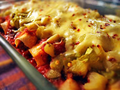 turkey enchiladas - a great way to use leftover turkey