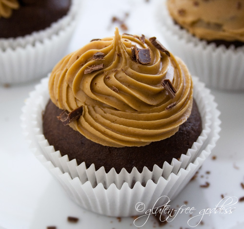 Gluten-Free Chocolate Cupcakes with Coffee Icing | Gluten-Free Goddess ...