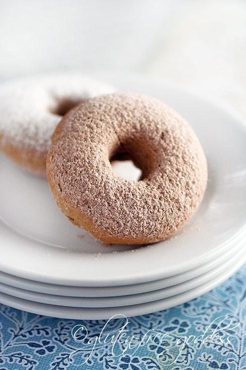 Gluten-Free Baked Sugared Donuts - Gluten-Free Goddess Recipes