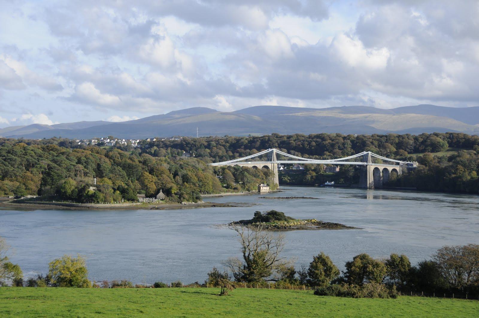 Menai Suspension Bridge Amp James Pringle Weavers Anglesey