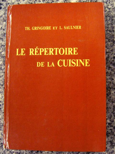 Tomoshiro inoue bibliographie 2 le repertoire de la cuisine for Repertoire de la cuisine