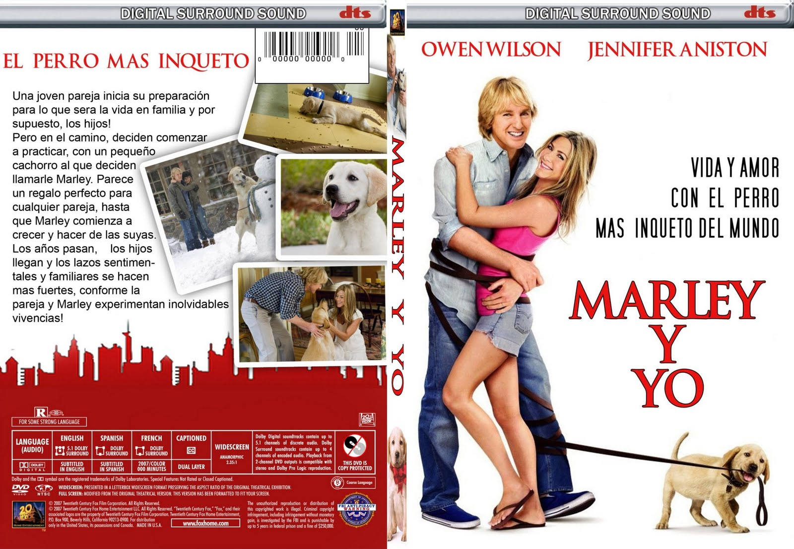 descargar marley y yo 2 dvd full