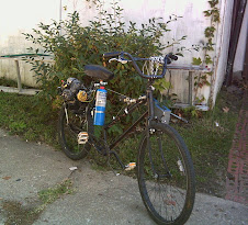 33 bike with propane gas tank