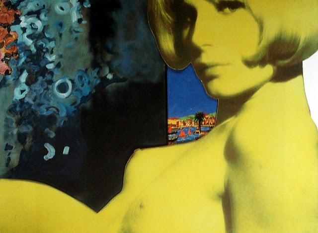 Les oeuvres picturales que vous aimez - Page 6 Martial_Raysse_Nu_jaune_et_calme