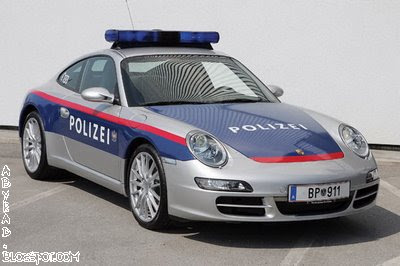 Hamburg Police Car