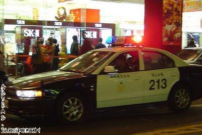 Taiwan Police Car