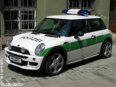 English Bavarian Police Car