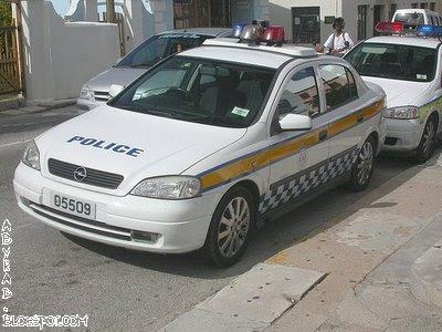 Bermuda Police Car