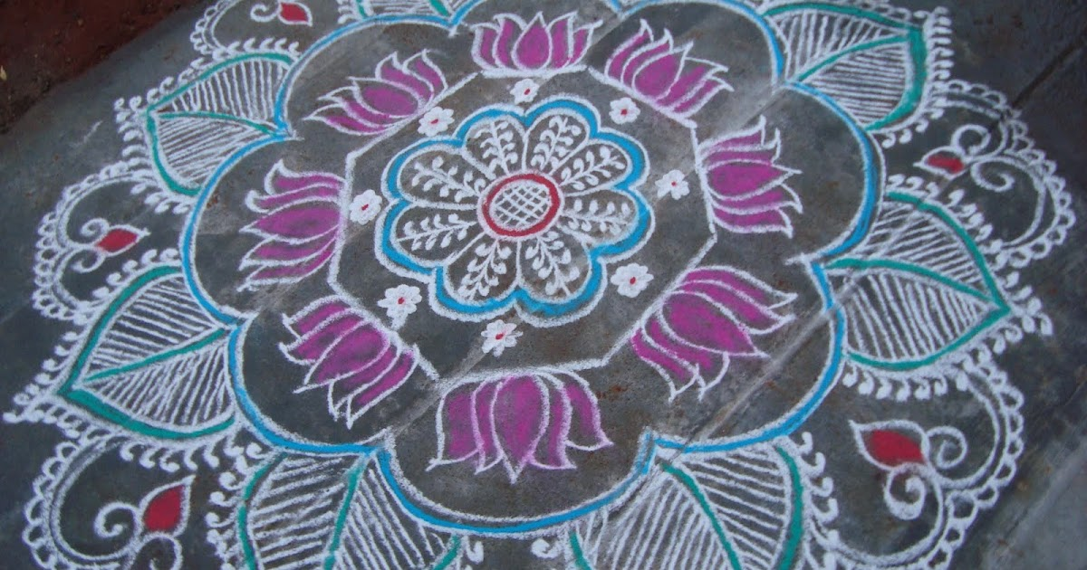 my kolam friday rangoli
