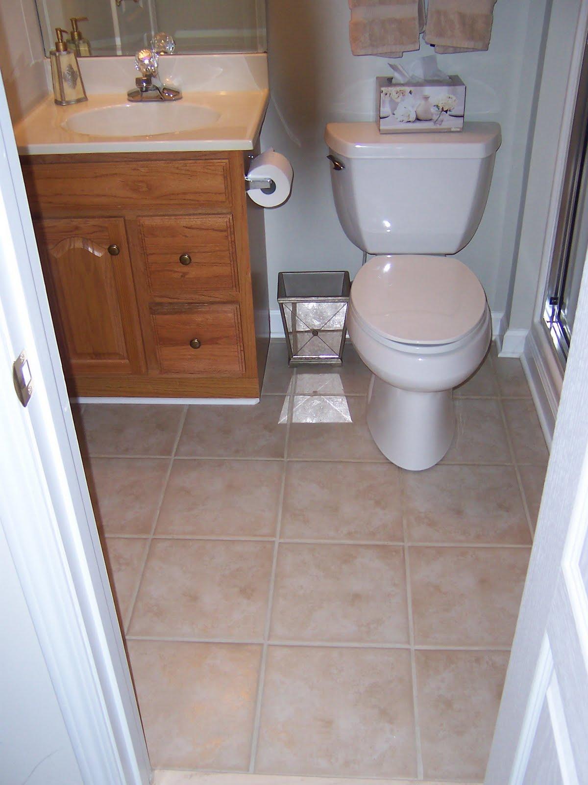 Chitner Floors Small Guest Bath Remodel - Bathroom remodeling lawrenceville ga