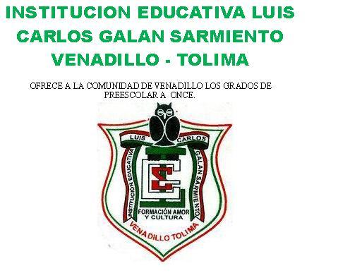 INSTITUCION EDUCATIVA LUIS CARLOS GALAN SARMIENTO