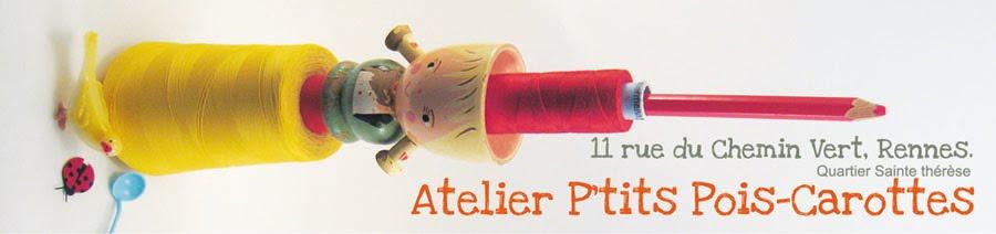 Atelier P'tits Pois Carotte