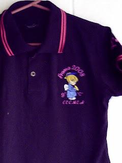 3e7c159f200df estas son camisas polo para promocion llevan un logo al frente bordado y el  nombre o apellido de la persona bordado en la manga
