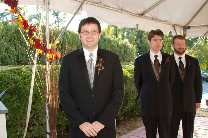 Meg & Will\'s Purple and Brown with Autumn accents Wedding Oct 23 ...
