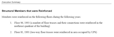 Texto: Miembros estructurales que fueron reforzados (pisos 81 y 96)