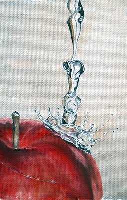 oil flower painting