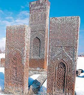 Cemitério seljúcida de Ahlat nomeado para a Lista de Património Mundial da Unesco