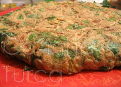 Tortilha de Acelgas (Pazılı Kaygana)